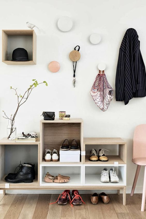 Picture Of clever examples to organize your entryway easily  19