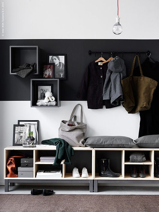 Picture Of clever examples to organize your entryway easily  21