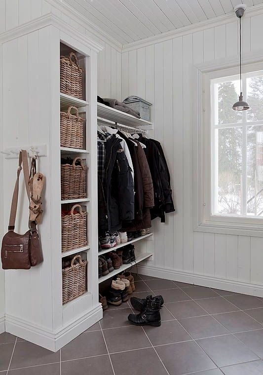 Foyer Entry Example : Clever examples to organize your entryway easily digsdigs