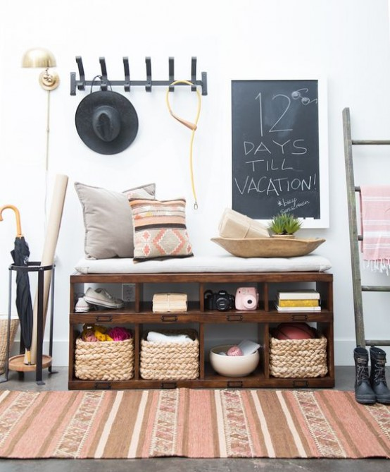 Awesome Clever Examples To Organize Your Entryway Easily Pictures