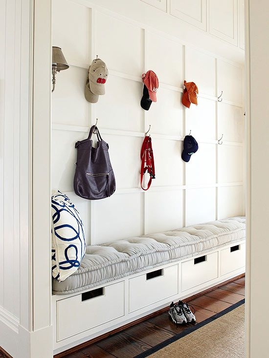 Picture Of clever examples to organize your entryway easily  28