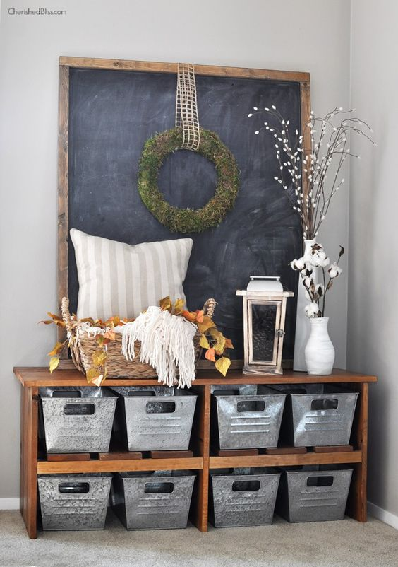 Picture Of clever examples to organize your entryway easily  3