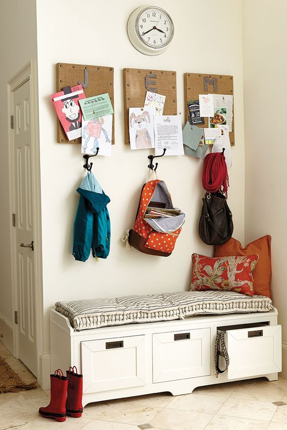Picture Of clever examples to organize your entryway easily  32