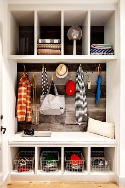 Picture Of clever examples to organize your entryway easily  33