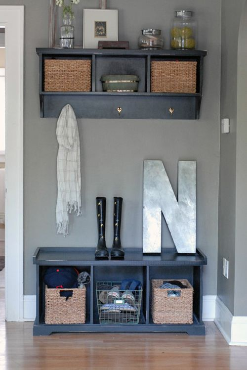 Picture Of clever examples to organize your entryway easily  5