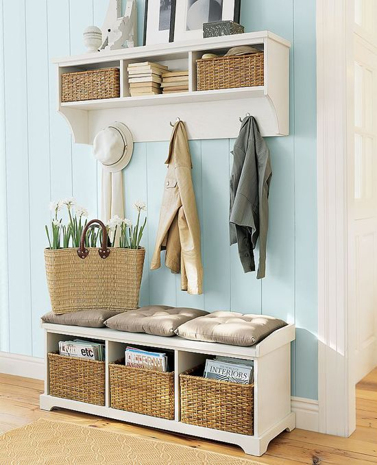 Picture Of clever examples to organize your entryway easily  9