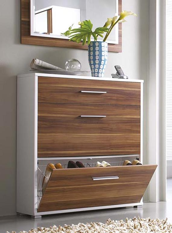 Contemporary Foyer Chest : Clever hallway storage ideas digsdigs
