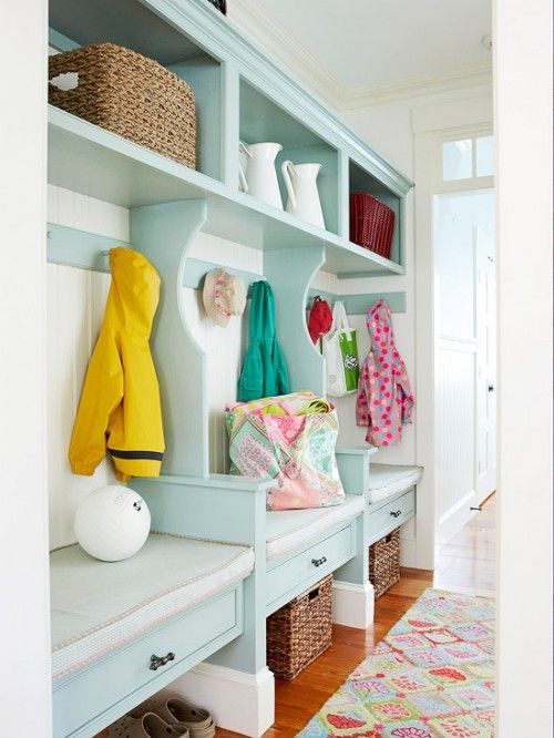 You can always add a splash of color if you DIY your storage solution.