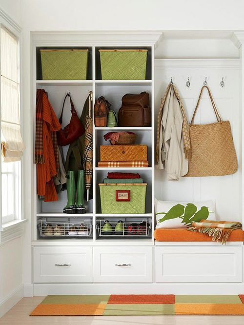 Entrance Foyer Storage : Clever hallway storage ideas digsdigs