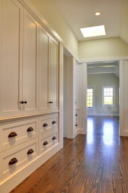 Built-ins could solve exactly your needs without looking bulky.