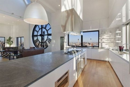 Clock Tower Conversion Into A Cool Penthouse