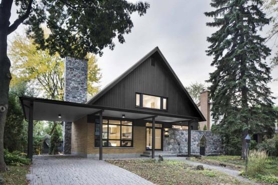 Closse Residence Stylish 1960s Home Renovation