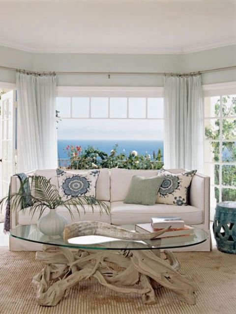 25 Coastal And Beach Inspired Sunroom Design Ideas Digsdigs