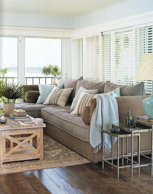 Coastal And Beach Inspired Sunroom Design Ideas Digsdigs