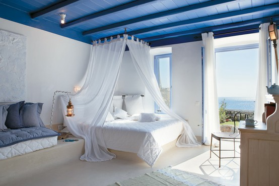 Coastal Hotel Style Bedroom
