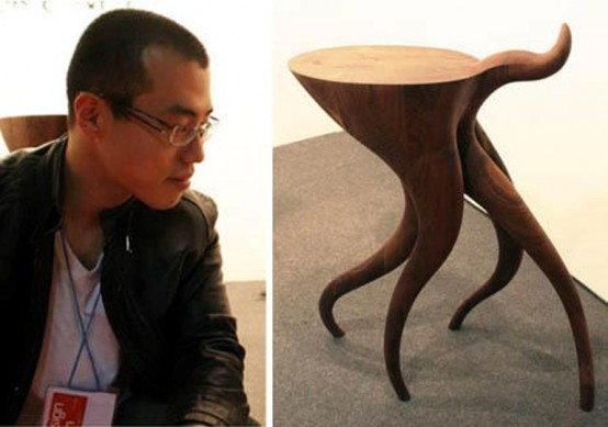 Coffee Table With Dynamic Legs