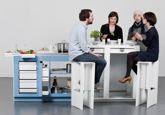 Collapsible Kitchen Unit
