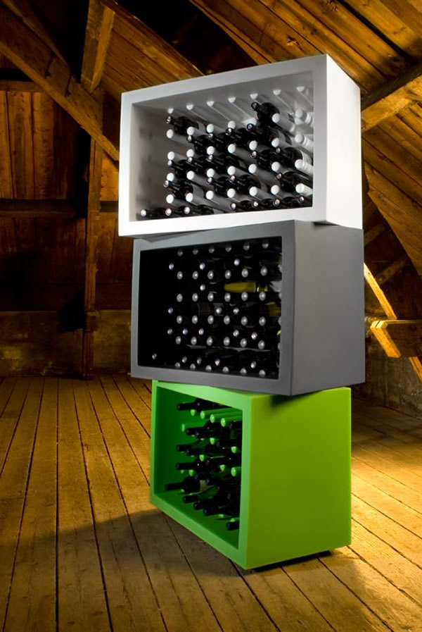 Collecting Wine With Style: The Bachus Bottle Holder