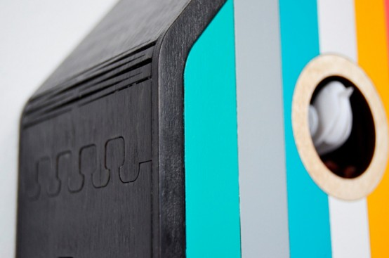 Color House Modern Take On A Traditional Cuckoo Clock