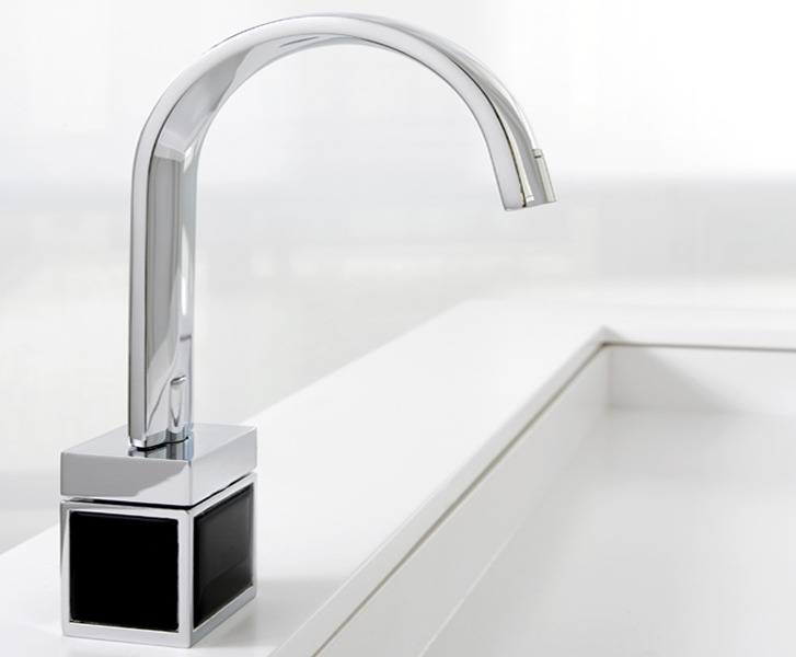 Bathroom Taps aesthetic bathroom taps with colored bottom - bio shock from fima