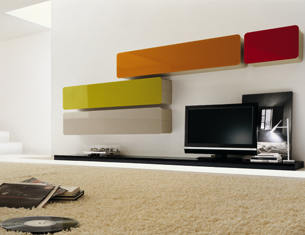 Colored Glass Wall Units And Sideboards Glass Day