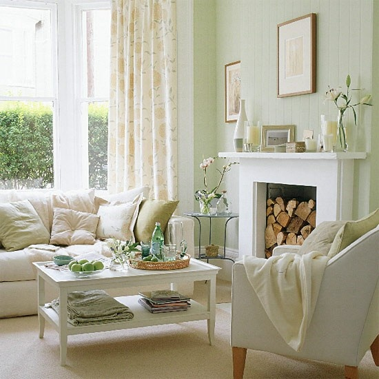 15 Trendy Japanese Curtain Designs Ideas For Windows 2015: 33 Colorful And Airy Spring Living Room Designs