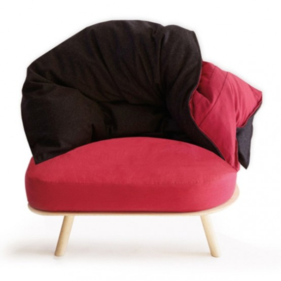 Colorful And Comfortable Transformable Furniture