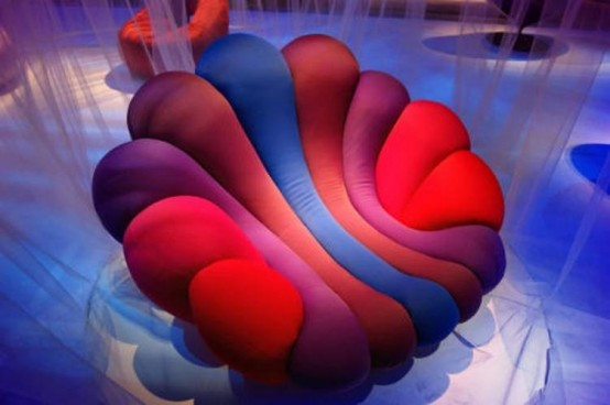 Colorful Anemone Chair