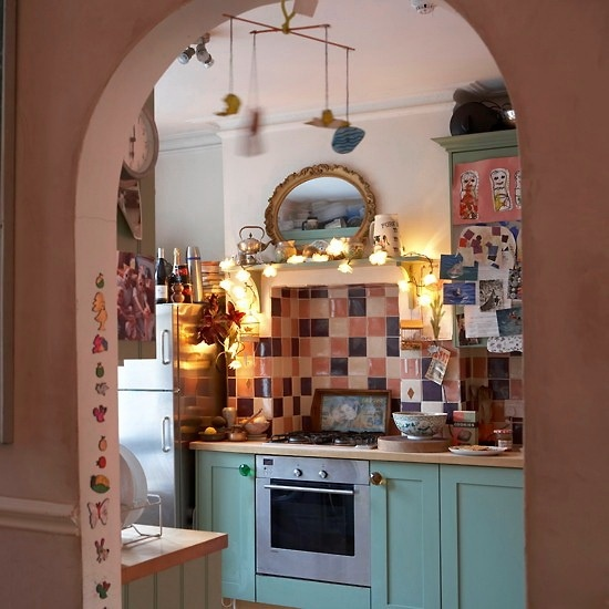 Blue Kitchen London: 49 Colorful Boho Chic Kitchen Designs