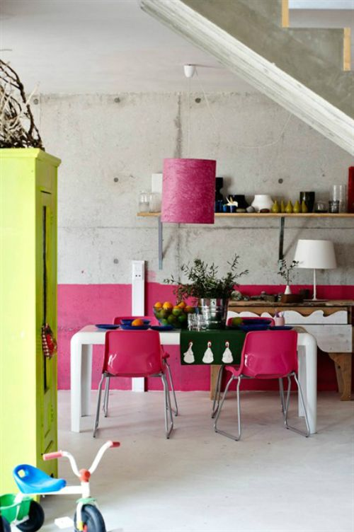49 Colorful Boho Chic Kitchen Designs