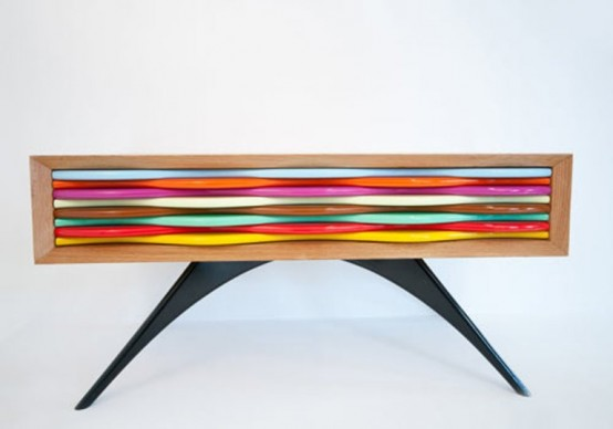 Colorful Candy-Like Sideboard