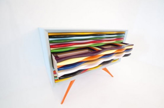 Colorful Candy Like Sideboard