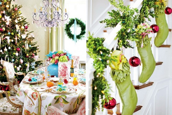 54 Colorful Christmas Inspiring Decor Ideas