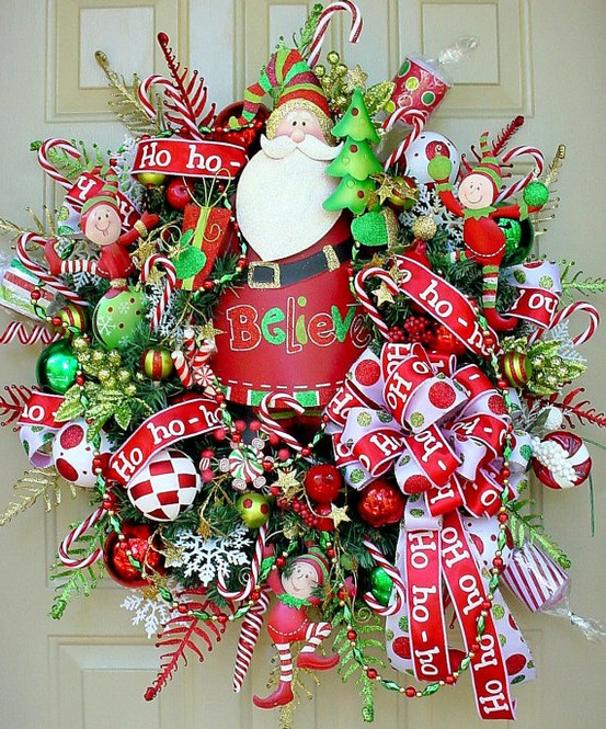 colorful christmas inspiring ideas - Colorful Christmas Decorations