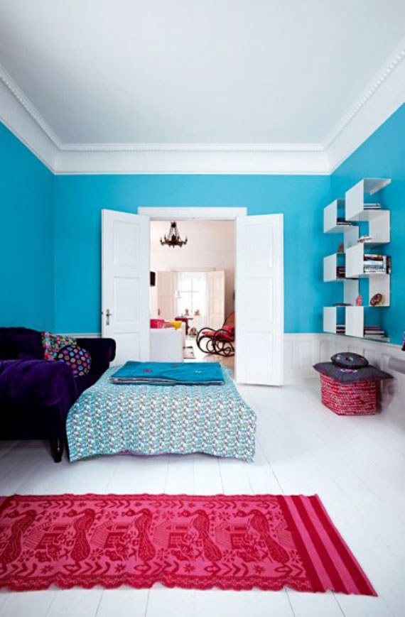 50 Bright And Colorful Room Design Ideas DigsDigs
