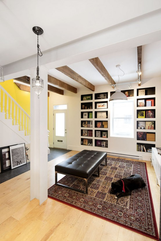 Colorful Eclectic House Renovated With Repurposed Materials