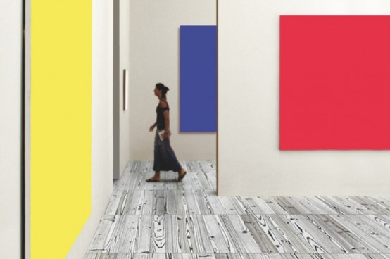 Colorful Floors With A Touch Of Warhol