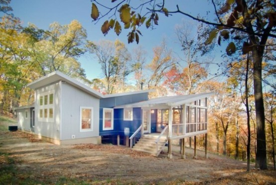 Colorful Forest Cabin Redesign On A Modest Budget