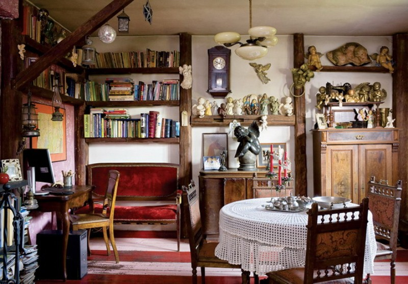 Colorful Fairy Tale House With Vintage Furniture | DigsDigs | the ...