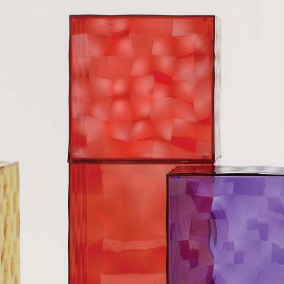Colorful Glass Drawers That Can Form An Art Object DigsDigs - Colorful glass drawers that can form an art object