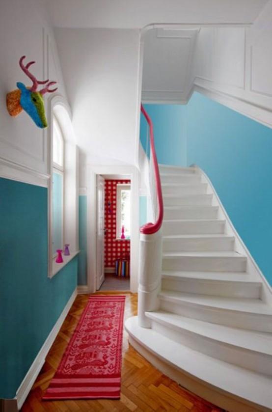 Colorful Hallway