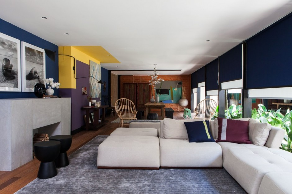 Colorful House Designed In A Fusion Of Cultures And Styles