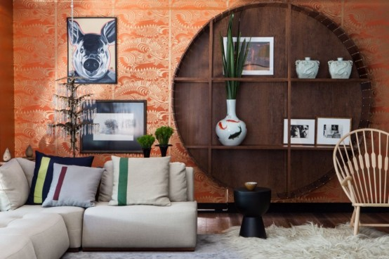 Colorful House In A Fusion Of Cultures And Styles
