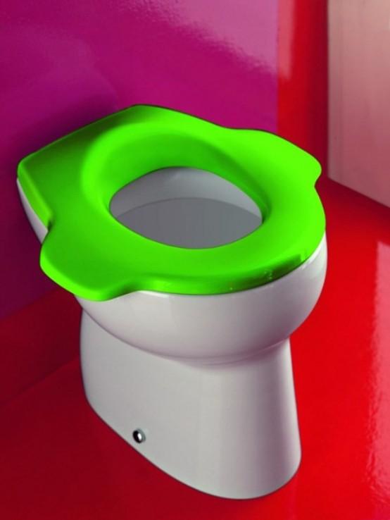 Colorful Kids Bathroom Furniture