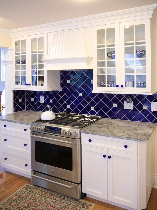 Gray Glass Tile Kitchen Backsplash: 36 Colorful And Original Kitchen Backsplash Ideas