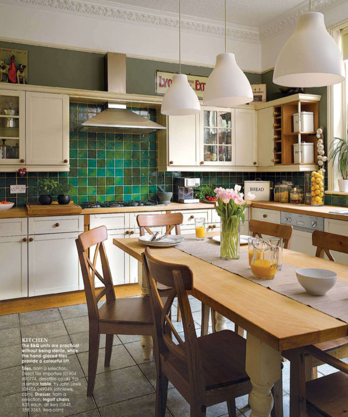 Green Kitchen Backsplash Ideas: 36 Colorful And Original Kitchen Backsplash Ideas