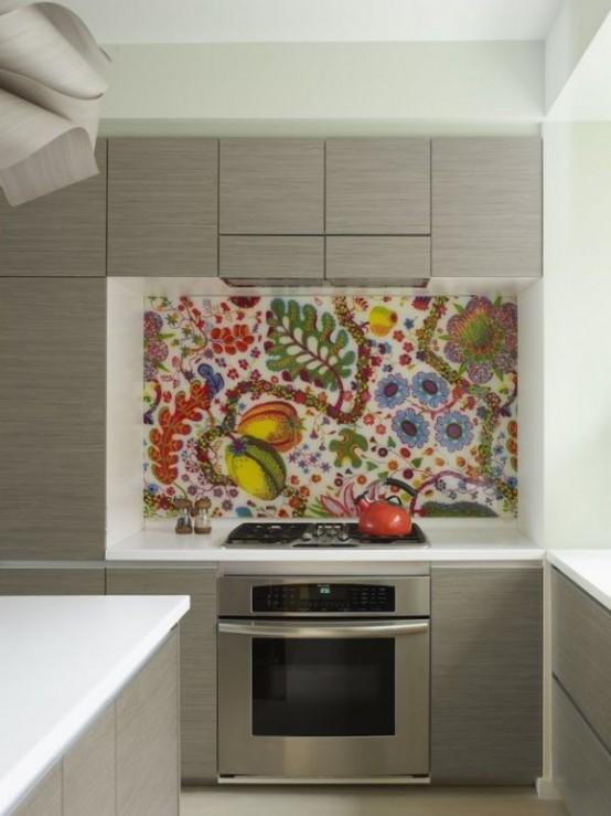 Superior Colorful Backsplash Ideas Part - 6: Colorful Kitchen Backsplash Ideas