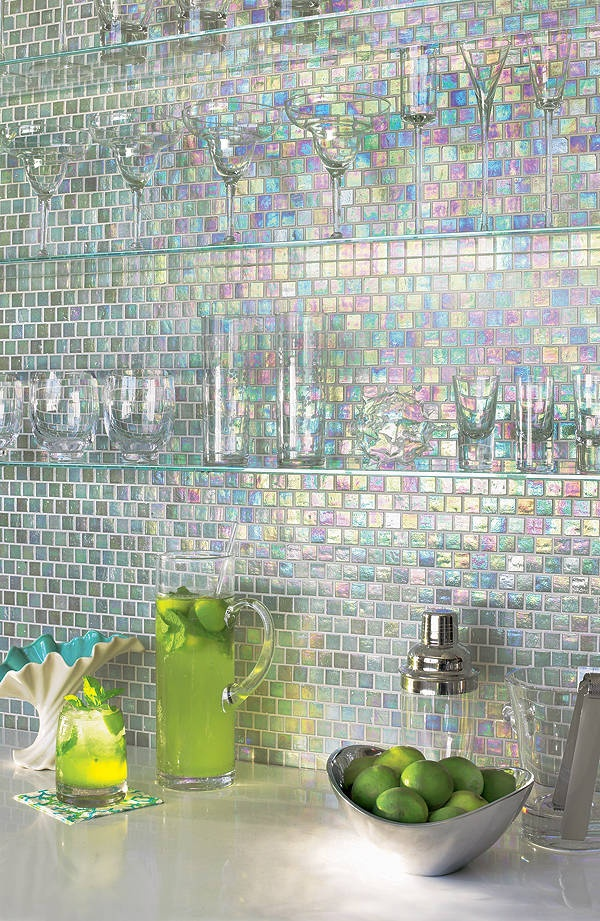 36 colorful and original kitchen backsplash ideas digsdigs Mosaic kitchen wall tiles ideas