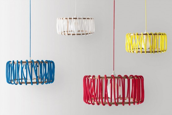Colorful Macaron Lamp Inspired By Famous Confections