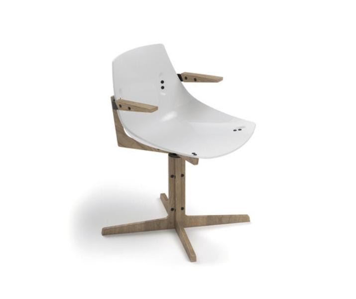 Colorful Modern Plexiglass Chairs